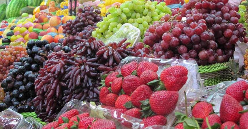 Bogyós gyümölcs árak