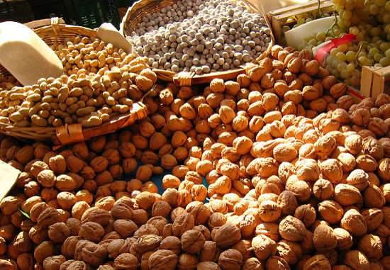 Héjas termésű gyümölcsök Mandula Dió Mogyoró