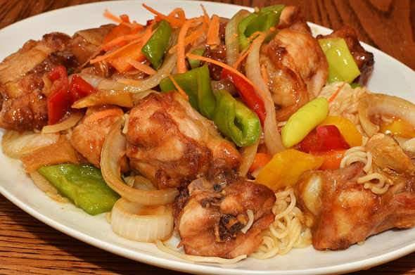 Csirkehúsból készült ételek, csirkés receptek, Csirkecomb, Csirkemell