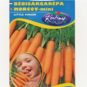 Zöldség vetőmag Bébi sárgarépa Little finger