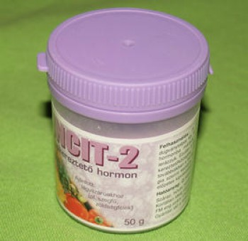 Gyökereztető hormon por - Incit 2 - szegfű zöldségfélék gyökereztetéséhez