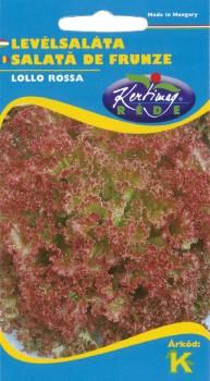 Levélsaláta vetőmag, Lollo Rossa - Zöldségmag Saláta vetőmag