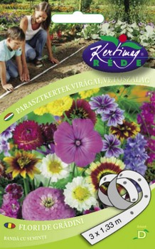 Virág vetőmag Parasztkertek virágai vetőszalag
