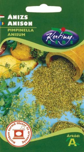 Fűszernövény vetőmag Ánizs