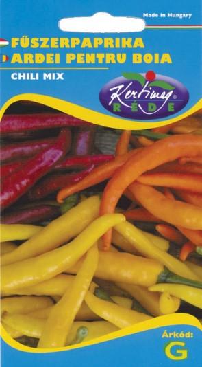 Zöldség vetőmag Fűszerpaprika, chili mix