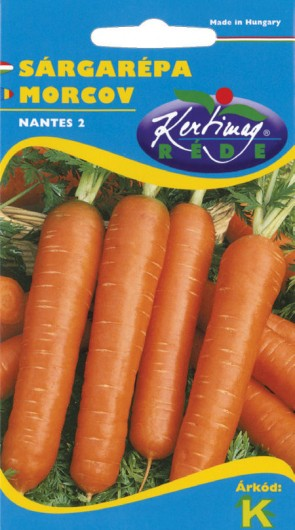 Sárgarépa Nantes 2 - Zöldség vetőmag