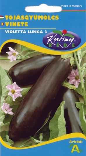 Tojásgyümölcs, Padlizsán Zöldség vetőmag - Zöldségmag